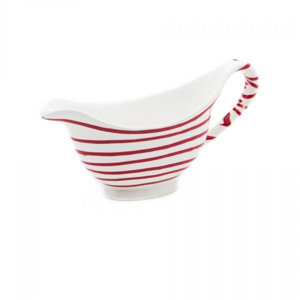 Gmundner Keramik Rotgeflammt Sauciere (SVGO18) 0,2 l