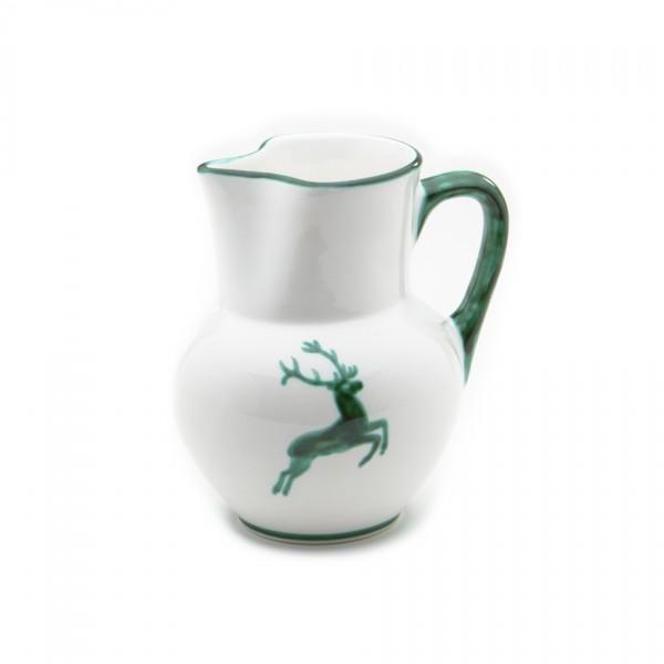 Gmundner Keramik Grüner Hirsch Krug Wiener Form (KRWF09) 1 l