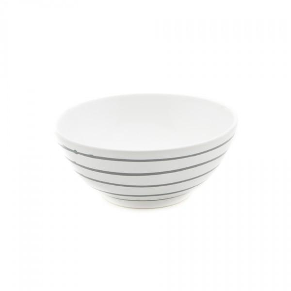 Gmundner Keramik Graugeflammt Schüssel rund (SUSE23) 23 cm