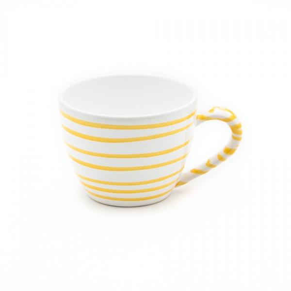 Gmundner Keramik Gelbgeflammt Teetasse Maxima (TTMA12) 0,4 l