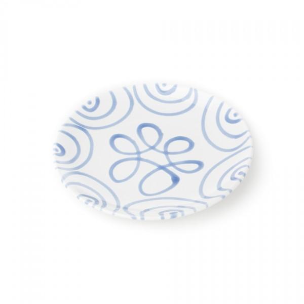 Gmundner Keramik Blaugeflammt Frühstücksteller Cup classic (TDCU20) 20 cm