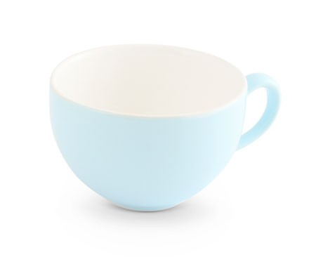 Friesland Trendmix Obertasse 3 gr. Pastellblau innen weiss 0,24l