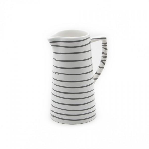 Gmundner Keramik Graugeflammt Wasserkrug (KRWA07) 0,7 l
