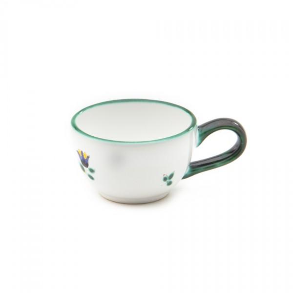 Gmundner Keramik Streublume Espresso/Mokka-Obertasse glatt classic (TMGL07) 0,06 l