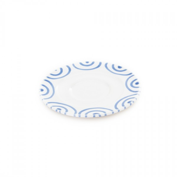 Gmundner Keramik Blaugeflammt Kaffeeuntere Gourmet (TUGO16) 16 cm