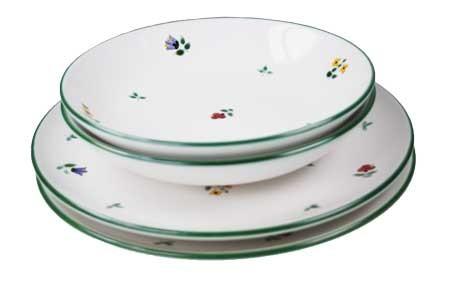 Gmundner Keramik Streublume Dinner for two, classic (STMC04SET)