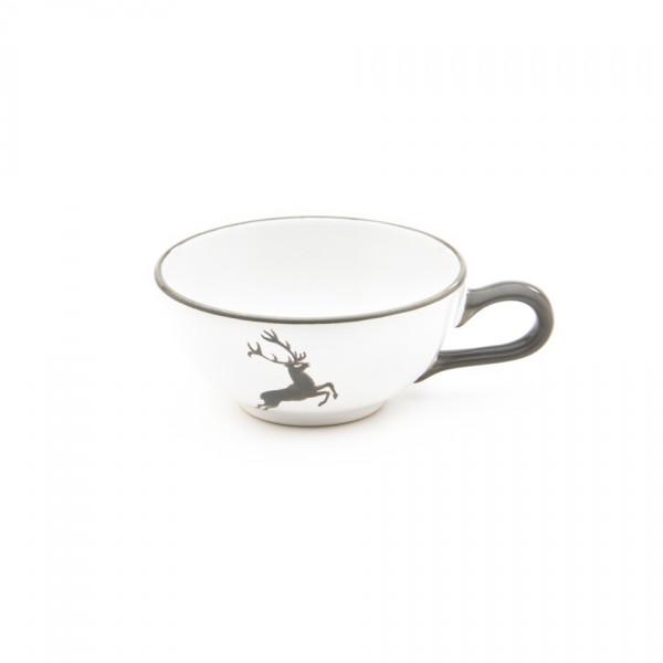 Gmundner Keramik Grauer Hirsch Tee-Obertasse (TTGL11) 0,17 l