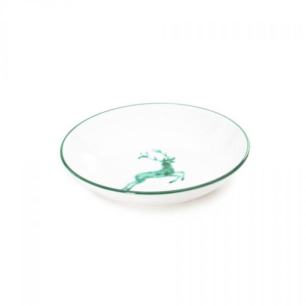 Gmundner Keramik Grüner Hirsch Suppenteller Cup (TSCU20) 20 cm