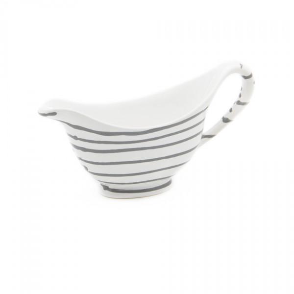 Gmundner Keramik Graugeflammt Sauciere (SVGO18) 0,2 l