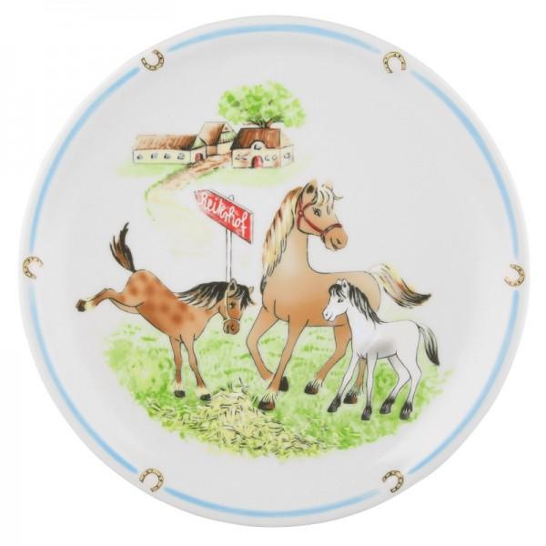 Kindergeschirre Seltmann, Mein Pony 24778 Speiseteller 25 cm