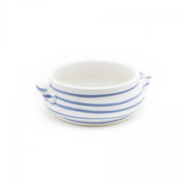 Gmundner Keramik Blaugeflammt Suppen-Obertasse (SASU13) 0,37 l