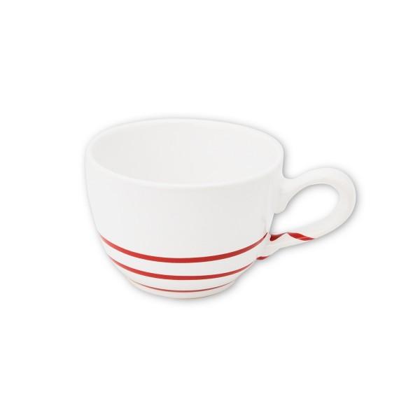 Gmundner Keramik Pur Geflammt Rot Kaffeetasse glatt TKGL10 0,19 l
