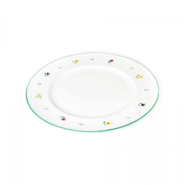 Gmundner Keramik Streublume Speiseteller m. Fahne Gourmet (TFGO29) 29 cm