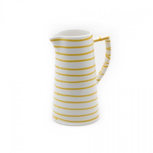 Gmundner Keramik Gelbgeflammt Wasserkrug (KRWA07) 0,7 l