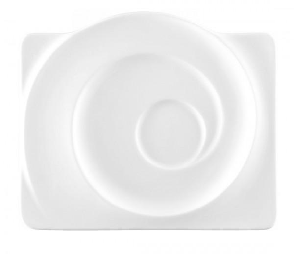 Seltmann Paso weiß Kombi-Untertasse eckig 19,5 cm