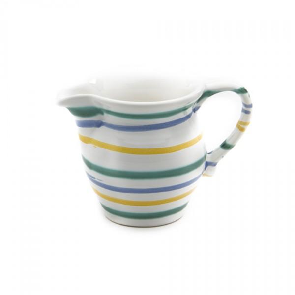 Gmundner Keramik Buntgeflammt Milchgießer glatt GMGL05 0,3l