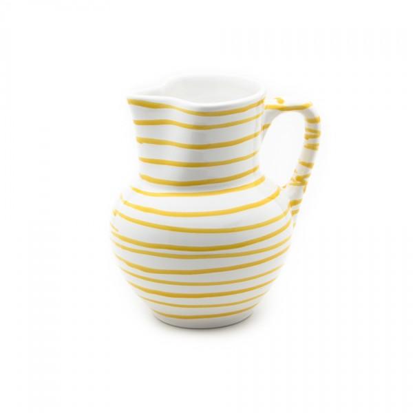 Gmundner Keramik Gelbgeflammt Krug Wiener Form (KRWF10) 1,5 l