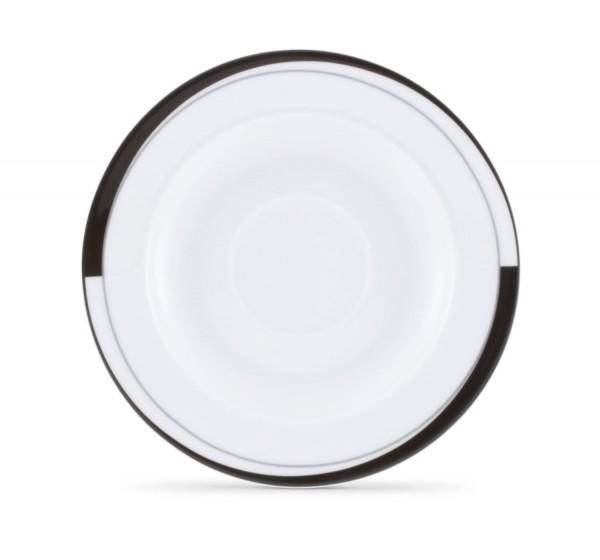 Friesland La Belle Black & White Kaffee-Untertasse 15,5 cm