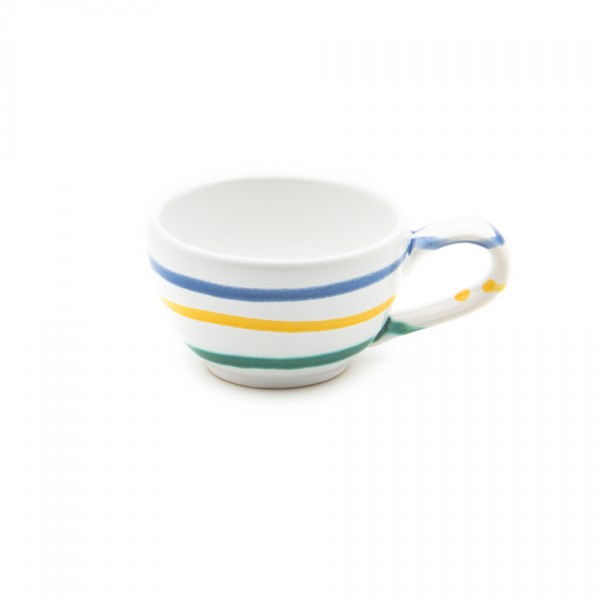 Gmundner Keramik Buntgeflammt Espressoobere glatt TMGL07 0,06l