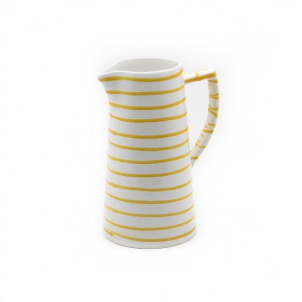 Gmundner Keramik Gelbgeflammt Wasserkrug (KRWA10) 1,2 l