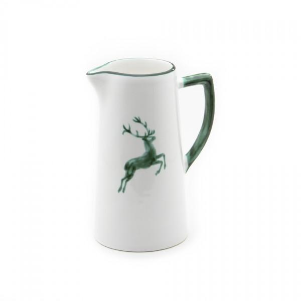 Gmundner Keramik Grüner Hirsch Wasserkrug (KRWA10) 1,2 l
