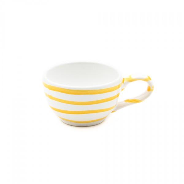 Gmundner Keramik Gelbgeflammt Espresso/Mokka-Obertasse glatt classic (TMGL07) 0,06 l