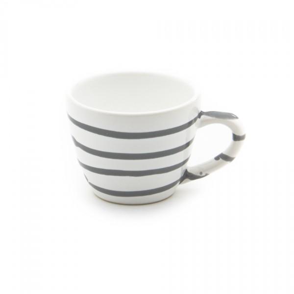 Gmundner Keramik Graugeflammt Espresso-Obertasse Gourmet (TEGO06) 0,06 l