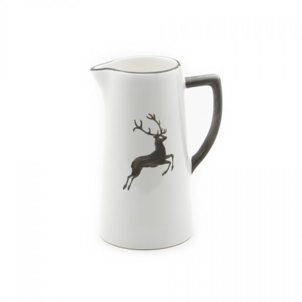 Gmundner Keramik Grauer Hirsch Wasserkrug (KRWA10) 1,2 l