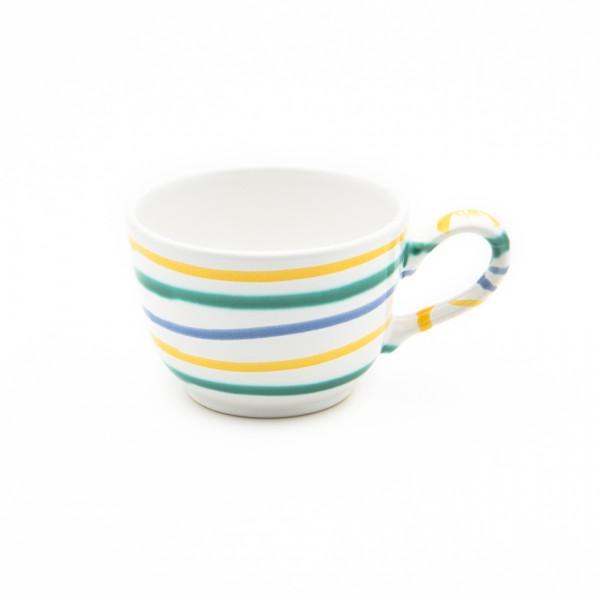Gmundner Keramik Buntgeflammt Kaffeeobere glatt TKGL10 0,19l