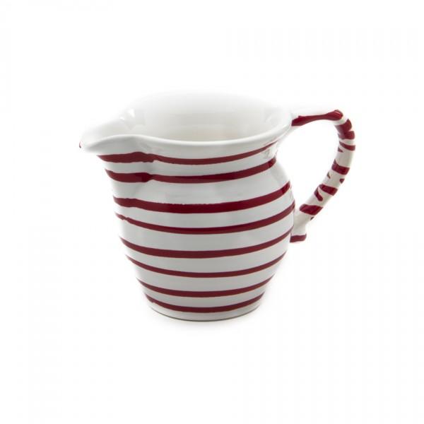 Gmundner Keramik Rotgeflammt Milchgießer glatt (GMGL07) 0,5 l