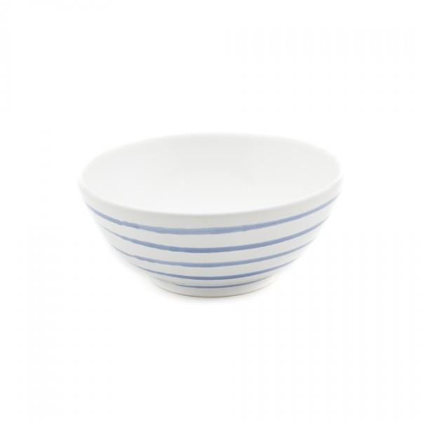 Gmundner Keramik Blaugeflammt Schüssel rund (SUSE23) 23 cm