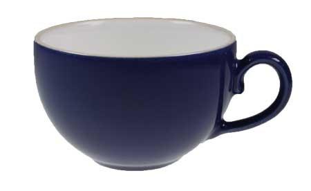 Friesland Happymix Blau NEU-Kaffeeobere innen weiß 0,24 l