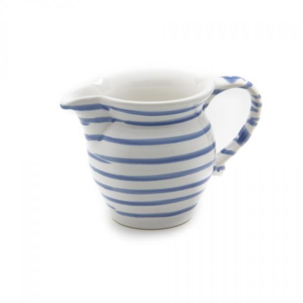 Gmundner Keramik Blaugeflammt Milchgießer glatt (GMGL05) 0,3l