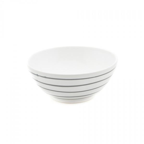 Gmundner Keramik Graugeflammt Schüssel rund (SUSE27) 27 cm