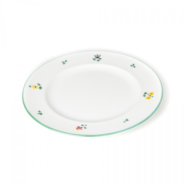 Gmundner Keramik Streublume Teller m. Fahne Gourmet (TDGO22) 22 cm