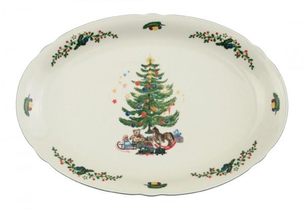 Seltmann Marie-Luise Weihnachten Platte oval 35 cm
