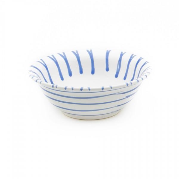 Gmundner Keramik Blaugeflammt Salatschüssel rund (SRSA20) 20 cm