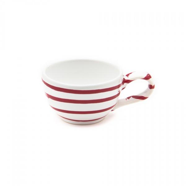 Gmundner Keramik Rotgeflammt Mokka/Espresso-Obertasse glatt classic (TMGL07) 0,06 l