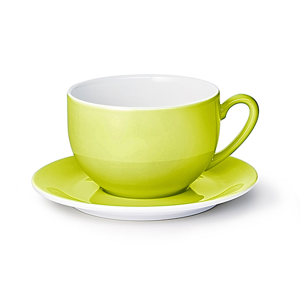 dibbern solid color limone jumbo untertasse 20 117 000 38
