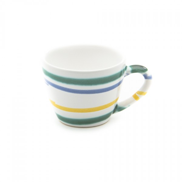 Gmundner Keramik Buntgeflammt Espressoobere Gourmet TEGO06 0,06l