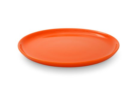 Friesland Happymix Orange Frühstücksteller/Jumbo-Untertasse 19 cm