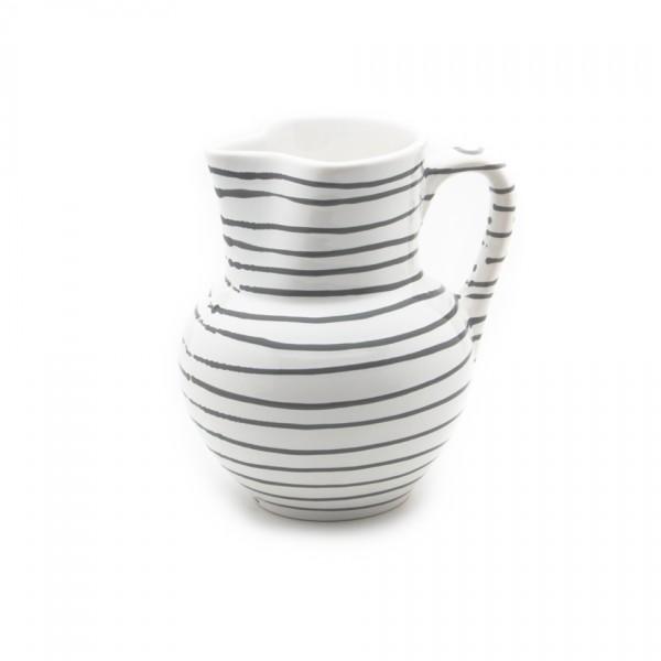 Gmundner Keramik Graugeflammt Krug Wiener Form (KRWF10) 1,5 l