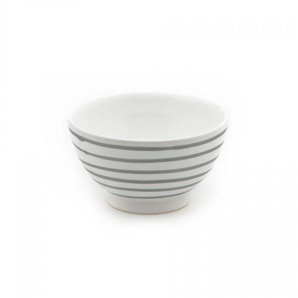 Gmundner Keramik Graugeflammt Müslischüssel classic (SAFR14) 14 cm