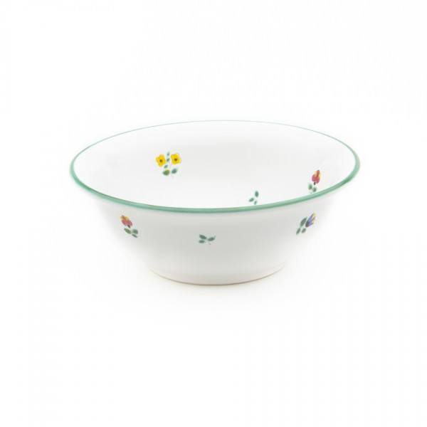 Gmundner Keramik Streublume Salatschüssel rund (SRSA20) 20 cm