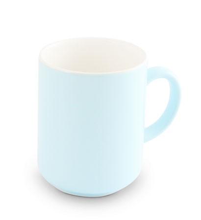 Friesland Trendmix Becher Pastellblau innen weiss 0,25l