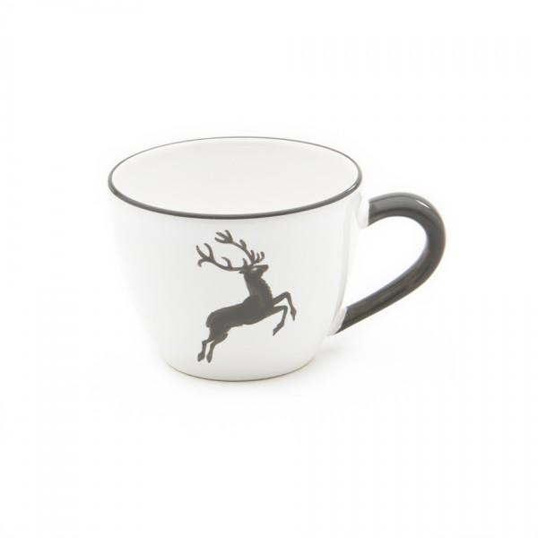 Gmundner Keramik Grauer Hirsch Tee-Obertasse Maxima (TTMA12) 0,4 l