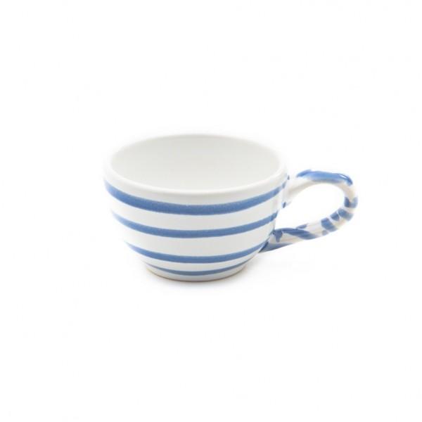 Gmundner Keramik Blaugeflammt Espresso-Obertasse glatt classic (TMGL07) 0,06 l