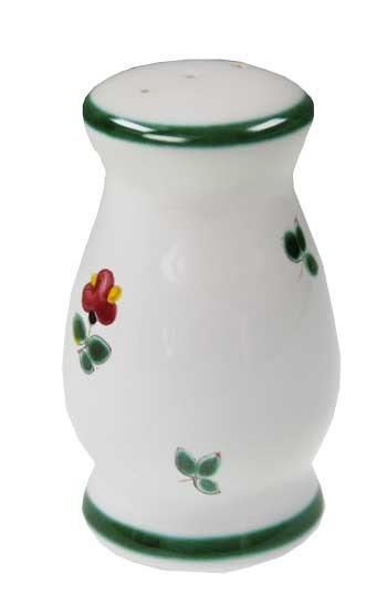 Gmundner Keramik Streublume Pfefferstreuer bauchig (PFBC09) 9 cm