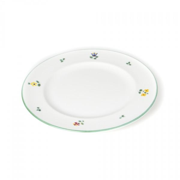 Gmundner Keramik Streublume Teller m. Fahne Gourmet (TDGO18) 18 cm