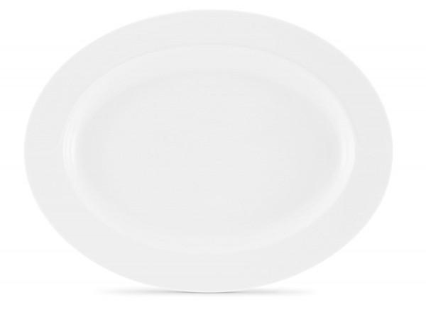Friesland La Belle weiß Platte oval (4) 32 cm